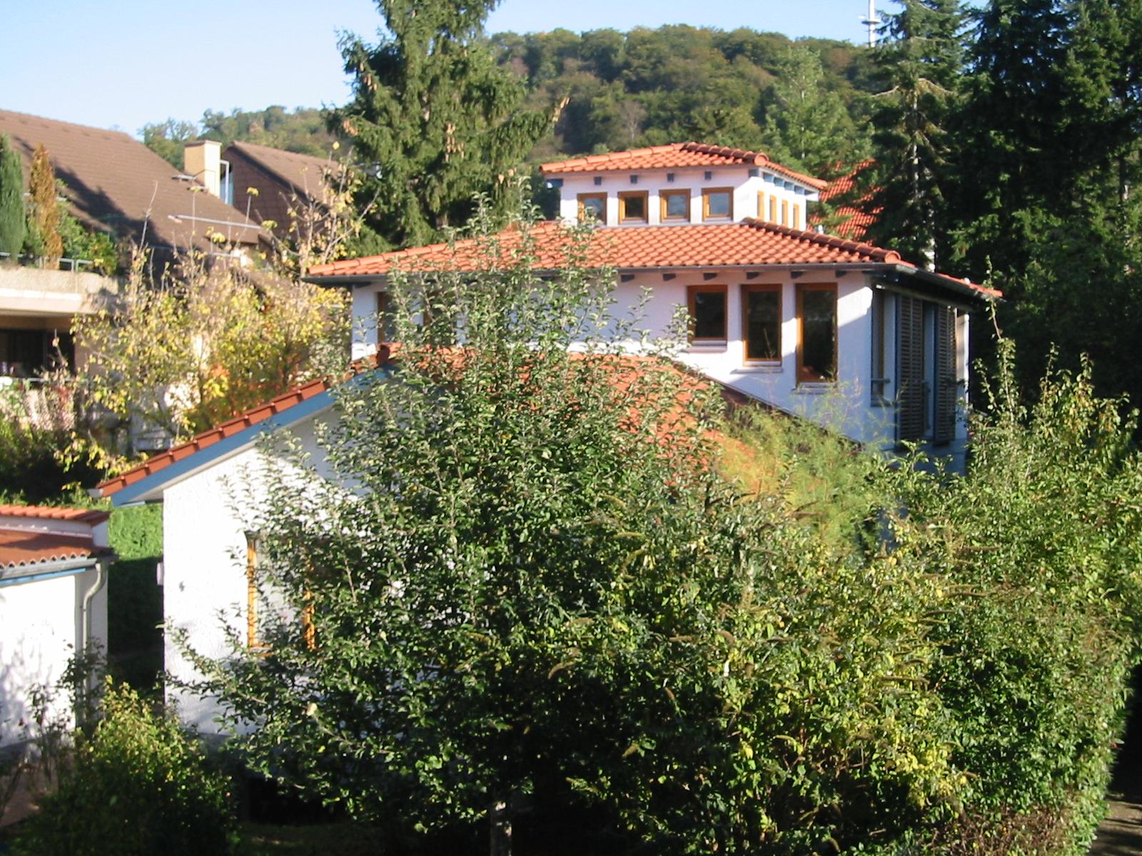 2001 Aufstockung Einfamilienhaus Bild 1