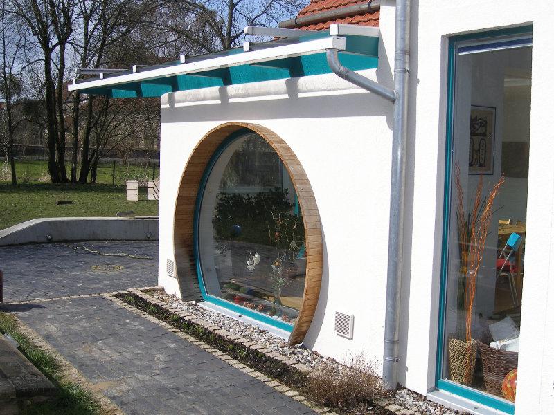 2005 Anbau an Zweifamilienhaus Bild 1