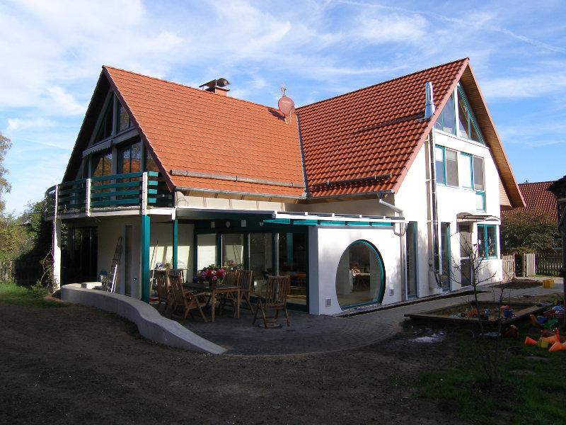 2005 Anbau an Zweifamilienhaus Bild 2