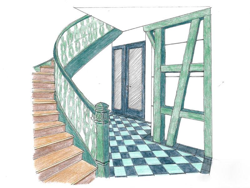 2009 Mehrgenerationenhaus Skizze 1