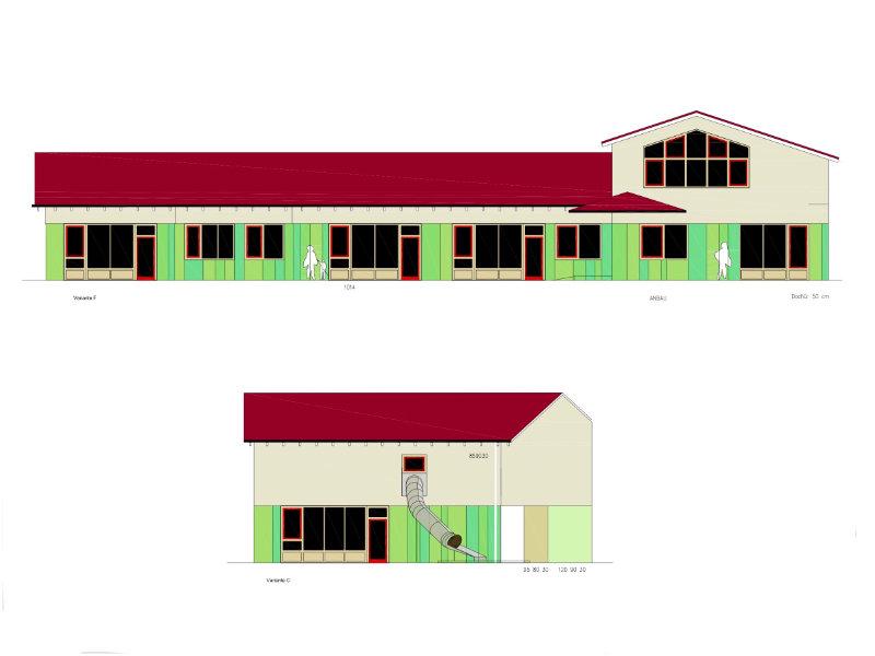 2010 Energetische Sanierung Kita Skizze 1
