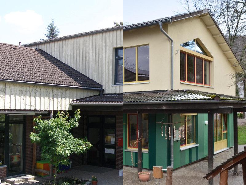 2010 Energetische Sanierung Kita Vorher-Nachherjpg
