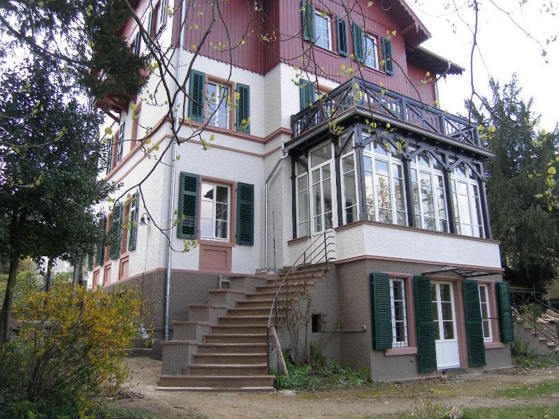 2011 Umbau denkmalgeschützte Villa Bild 4
