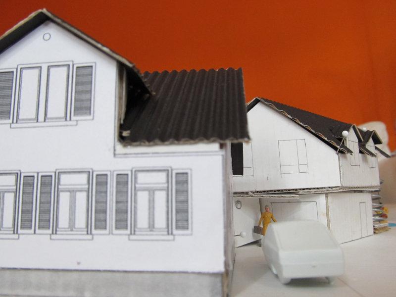 2016 Anbau an Einfamilienhaus Modell 2