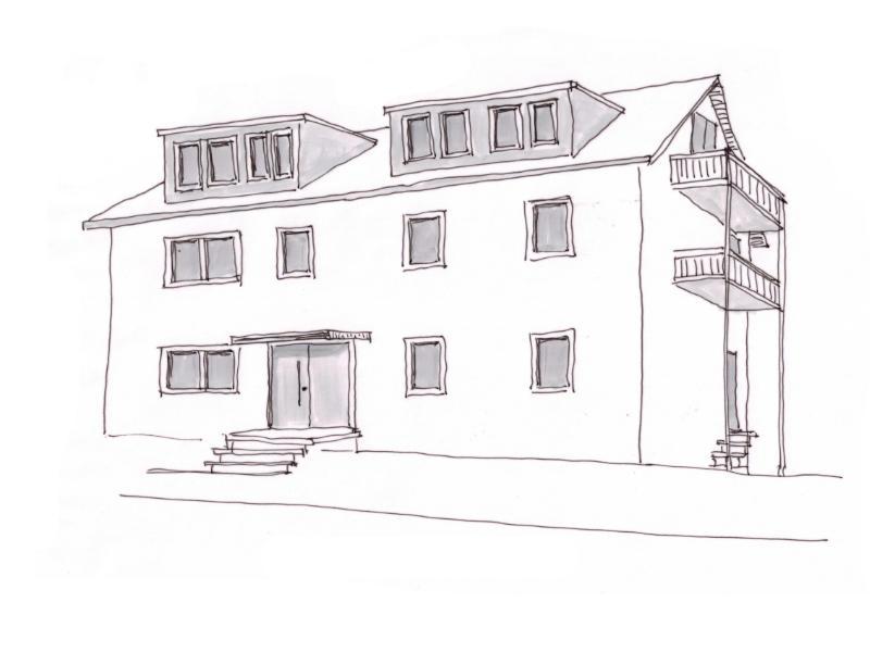 2020 Umbau Mehrfamilienhaus Skizze 2
