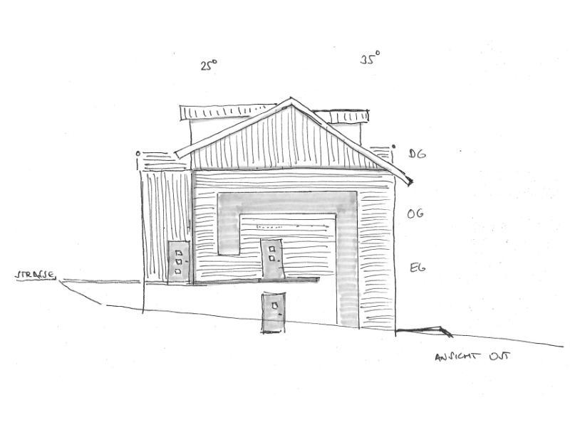 2021 Zweifamilienhaus in Planung Skizze 2-1